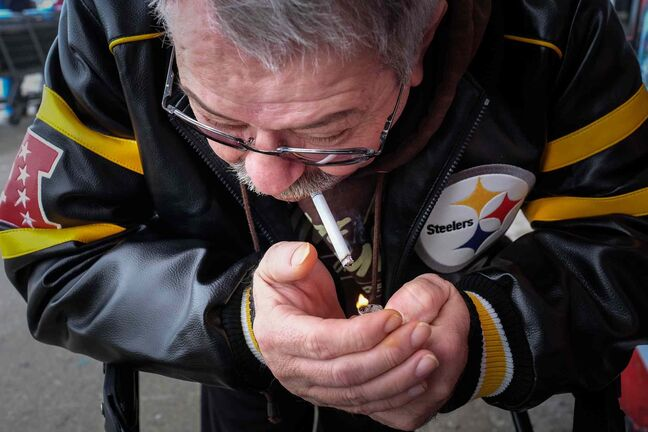 Quitting smoking is hard, Tom works at it but...