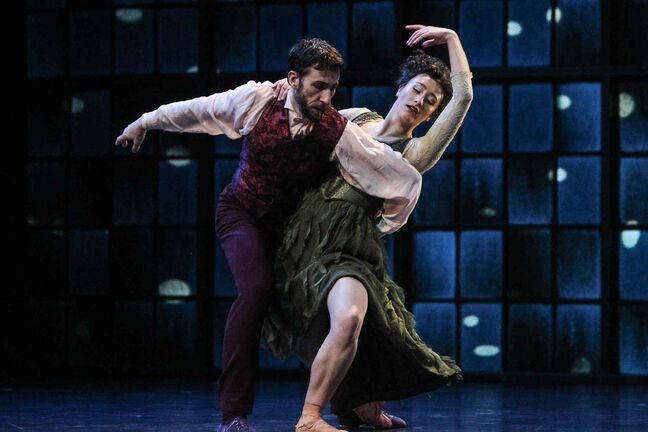 Les Grands Ballets Canadiens de Montreal will perform Peter Quanzs' Rodin / Claudel at the Centennial Concert Hall March 4 and 5.
