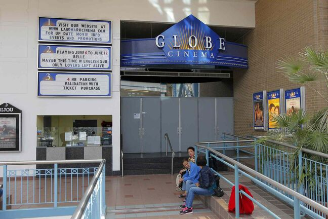 The Globe Cinema in Portage Place is closing this month.