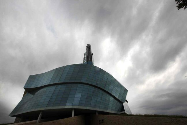The Canadian Museum for Human Rights holds its grand opening in September.