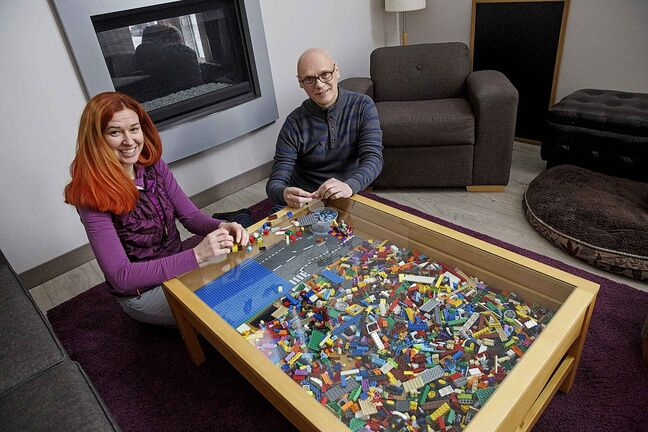 Kristen Klassen and Darrell Cole are the only certified trainers in North America for Lego Serious Play.