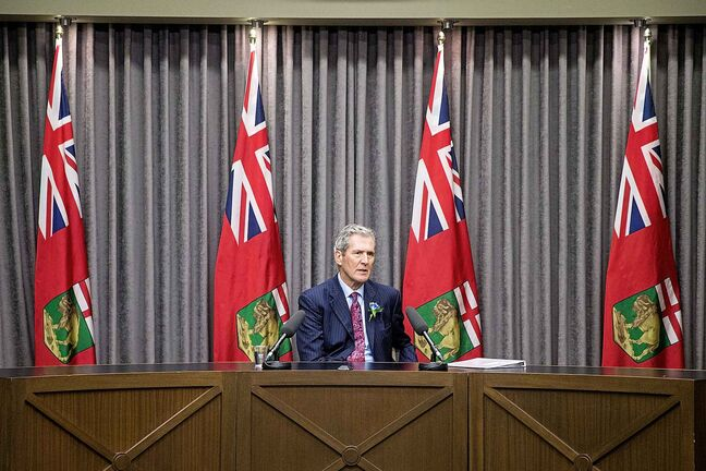 Underspending the capital budget as much as Brian Pallister and the government did over the past two years has economic consequences. (Mikaela MacKenzie / Winnipeg Free Press)