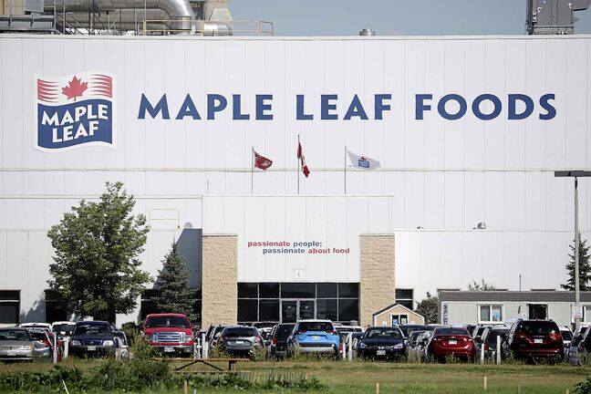 Dozens of workers employed at Brandon's Maple Leaf Foods have tested positive for COVID-19.