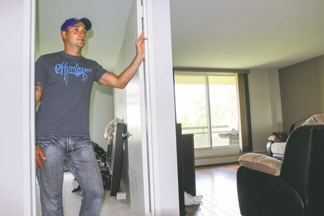 Chad Ell says his condo was the right fit in terms of features, size and cost.