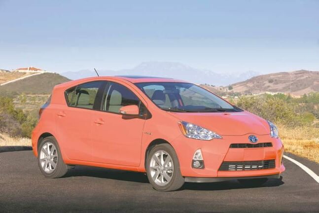 Natural Resources Canada named Prius C the most fuel-efficient non-electric car for 2013.