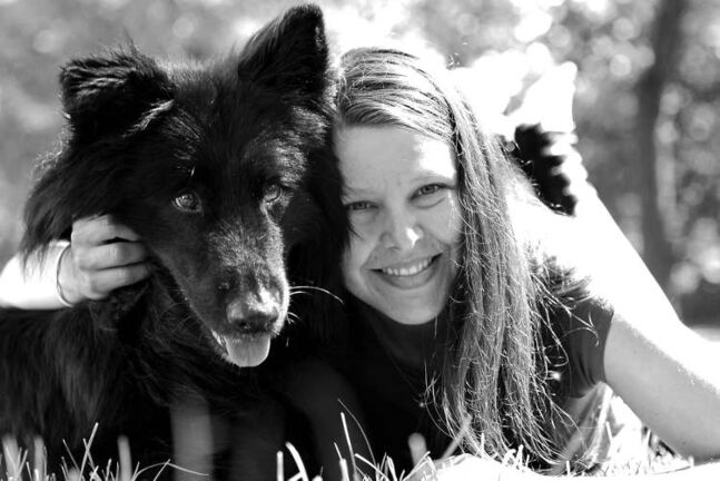 Roxanne Persowich, with her now healthy dog, Roco, used crowdfunding website GoFundMe.com to raise enough money for his expensive veterinary treatment.