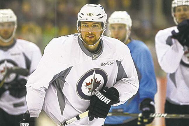 KEN GIGLIOTTI  / WINNIPEG FREE PRESS  archivesBlake Wheeler is unsigned with an  arbitration hearing slated for July 29.