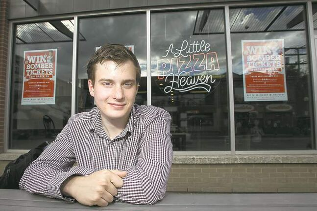 Oliver Sachgau has found his perfect slice of Winnipeg during his time as a Free Press intern.