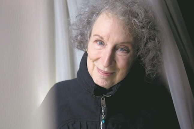 Writer Margaret Atwood's new book is MaddAddam.