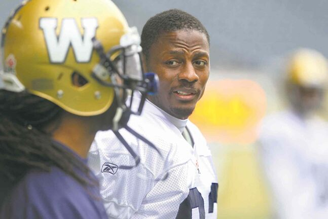 Ruth Bonneville / Winnipeg Free PressVeteran receiver Terrence Edwards has seen terrible Blue Bomber teams one year turn it around in a hurry the next. He reckons it could happen again.