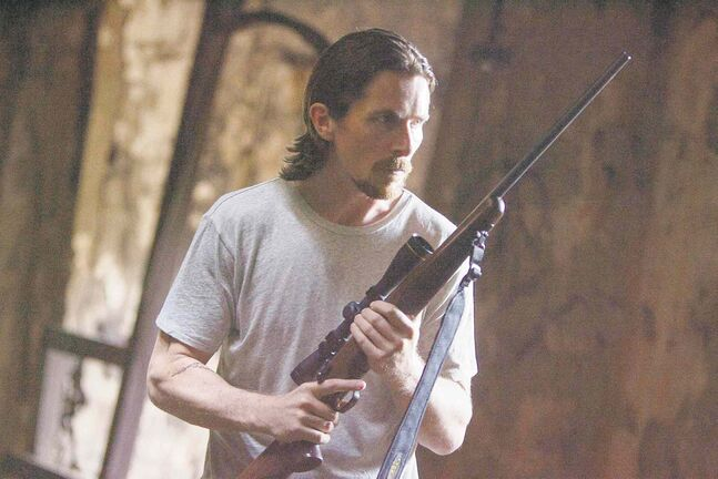 Christian Bale in a scene from Out of the Furnace.