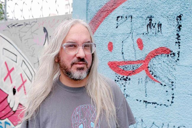 Alt-rock legend J Mascis.