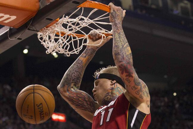 The Miami Heat's Chris 'Birdman' Andersen was the high-profile target of a complex extortion scheme, authorities say.