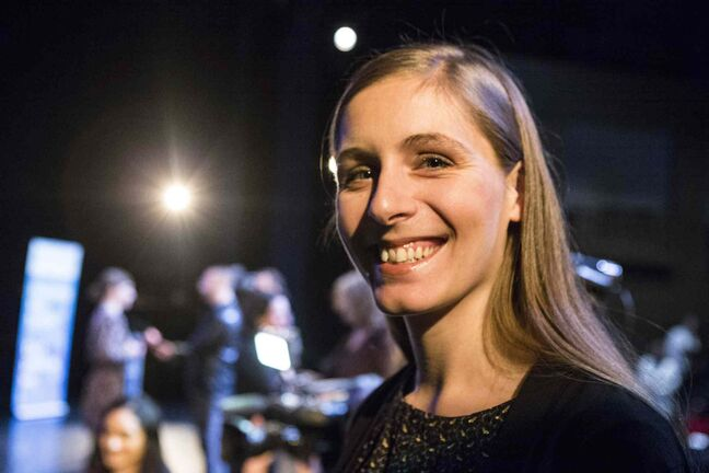 Ontario-born, New Zealand-raised author Eleanor Catton is photographed shortly after it was announced that she had won a $25,000 Governor General's Literary Award for her novel