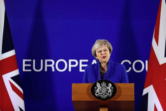 British Prime Minister Theresa May and European Commission head Jean-Claude Juncker have both said no other terms are possible. (Alastair Grant / The Associated Press files)
