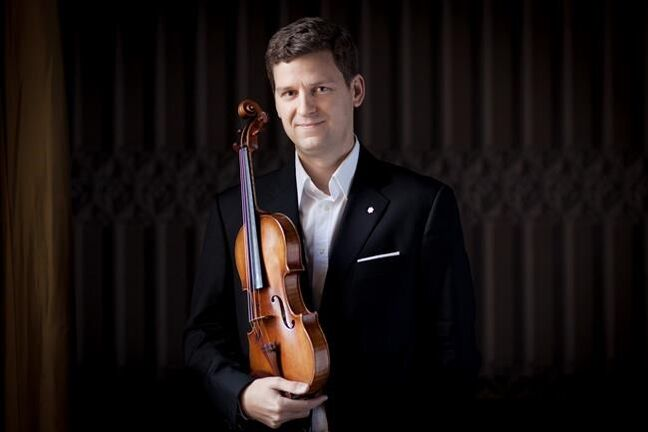 Canadian violinist James Ehnes is shown in London, Eng. in a 2012 handout photo.