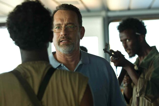 Tom Hanks stars in Columbia Pictures' 'Captain Phillips.'