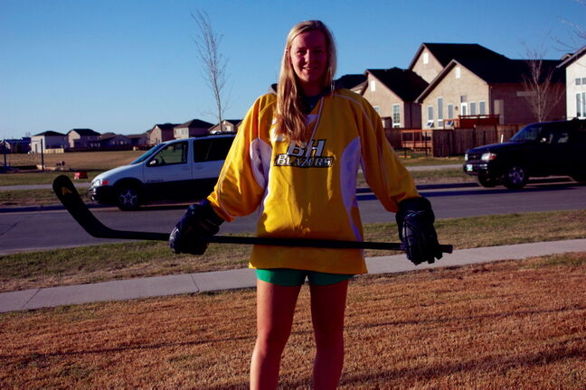 Canterbury Park resident and Balmoral Hall Grade 10 student Kati Tabin is raising money to help fund a child's full hockey season with registration, ice time, tournament fees, and equipment included.