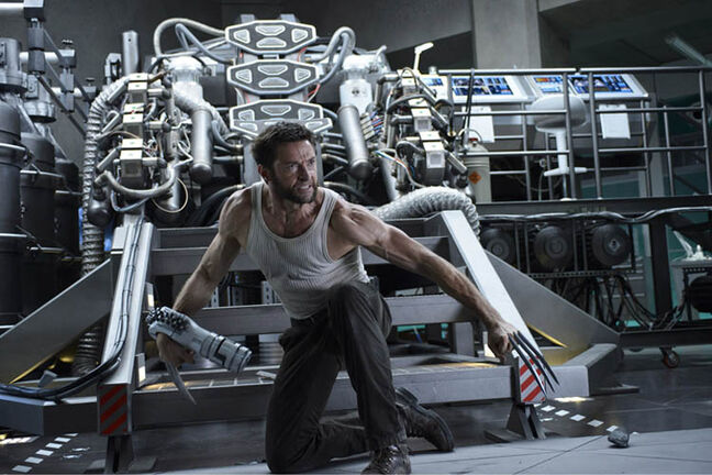 Hugh Jackman in The Wolverine.