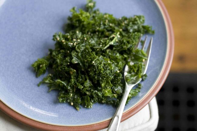 Kale is easy to grow, easy to cook, and good for you.