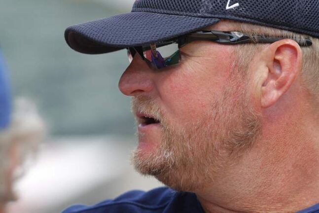 Goldeyes manager Rick Forney