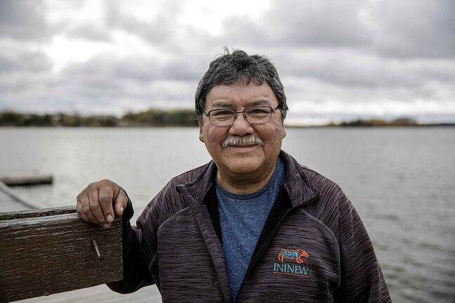 God's Lake Narrows First Nation Chief Gilbert Andrews.