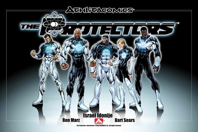 The Protectors chronicles a group of athletes who find out they also have superpowers and set about trying to save the world.
