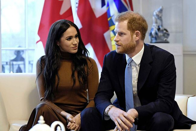 After it was announced in January that Britain's Prince Harry and Meghan, Duchess of Sussex, would be stepping away from royal duties and working to become financially independent, they began to split their time between the U.K. and Canada, leading to some speculating they would move here permanently. (Daniel Leal-Olivas / Pool / Canadian Press files)