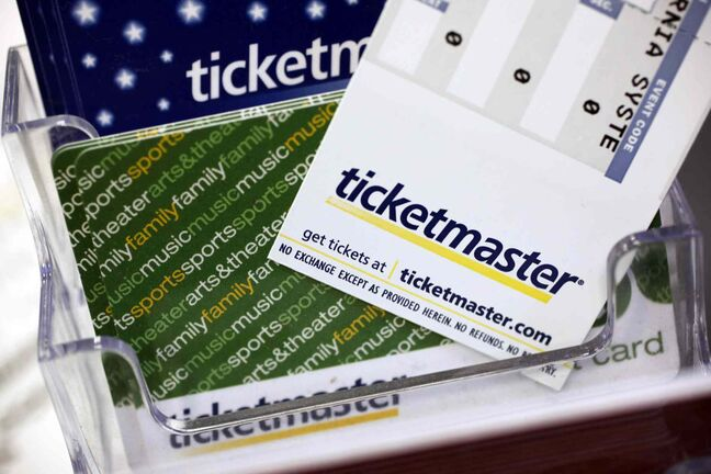 Ticketmaster is laying off 70 staff in Winnipeg because of the growing number of people who are ordering tickets over the Internet rather than over the phone, the company said.
