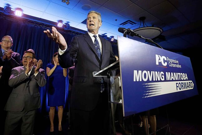 PC Leader Brian Pallister: 'We captured, over the last two elections, more seats than any back-to-back government in the history of the Province of Manitoba'