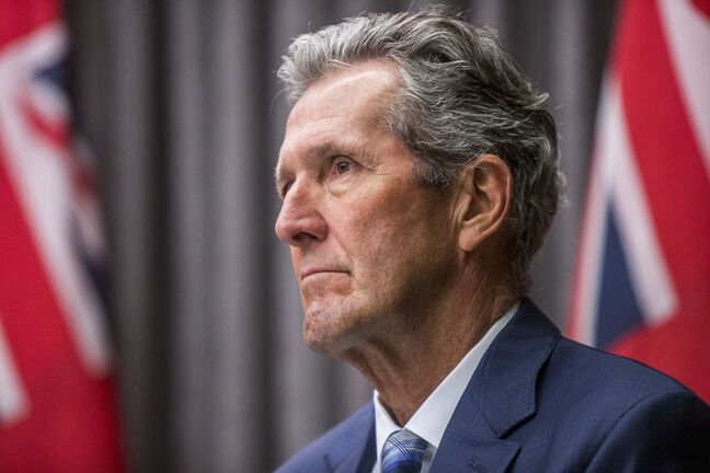 Premier Brian Pallister announced Tuesday Manitobans will be able to apply for a digital or physical immunization card to prove they are fully vaccinated. (Mikaela MacKenzie / Winnipeg Free Press files)