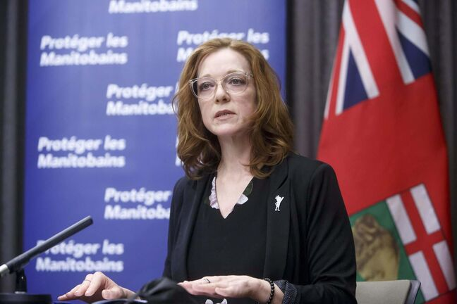 Ainsley Krone, acting Manitoba Advocate for Children and Youth  (Mike Deal / Winnipeg Free Press files)