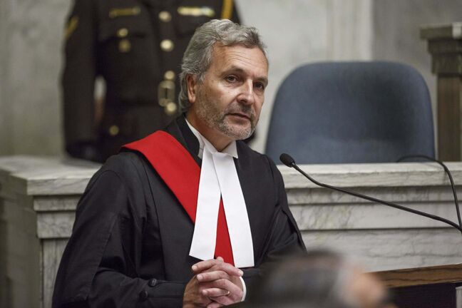 MIKE DEAL / WINNIPEG FREE PRESS FILES</p><p>Manitoba Court of Queen's Bench Chief Justice Glenn Joyal</p>