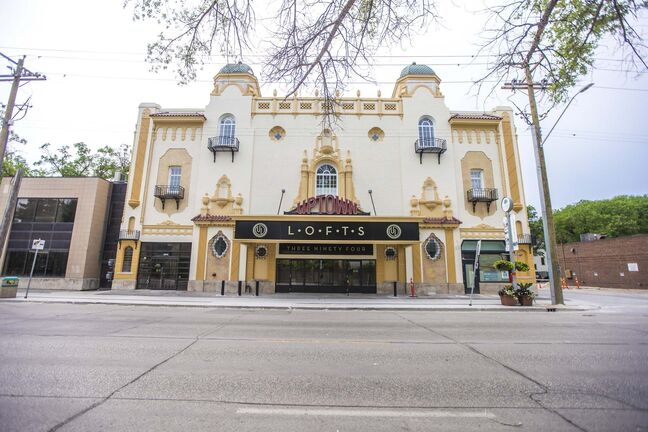 MIKAELA MACKENZIE / WINNIPEG FREE PRESS</p><p>Winnipeg architect Max Blankstein's design for the Uptown Theatre referenced the Moorish style, using architectural elements from the western Islamic world mixed with some Spanish forms.</p></p>