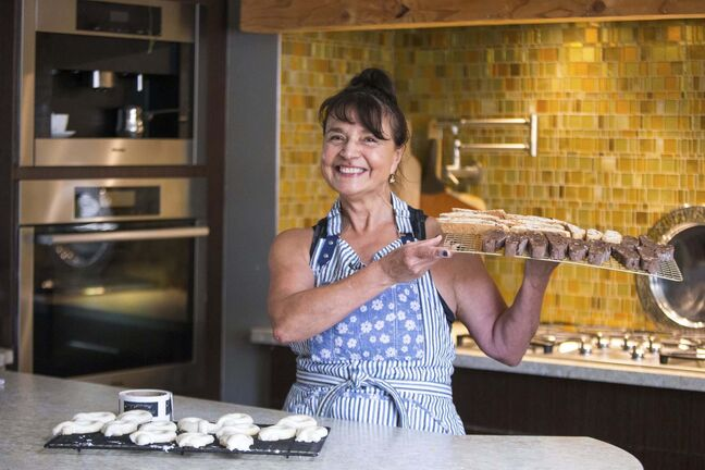 After being repeatedly told her baking was too good to be given away for free, Silvia Aiello launched her business.</p>