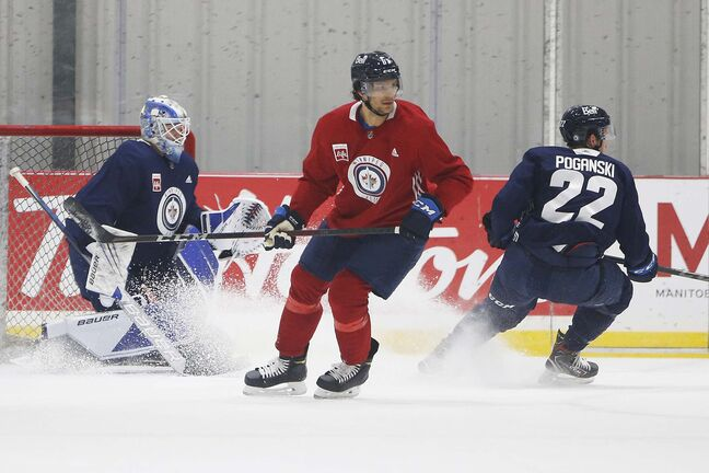 Johnathan Kovacevic was a third-round pick in the 2017 NHL Draft and spent the last two seasons with the Manitoba Moose. (John Woods / Winnipeg Free Press files)