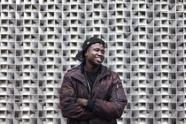 Daniel Crump / Winnipeg Free Press</p><p>Ayii Madit, 25, is a Winnipeg rapper who goes by the name 10K. He credits his cousin for chatting up West End Cultural Centre executive director Jason Hooper and helping launch his career.</p>