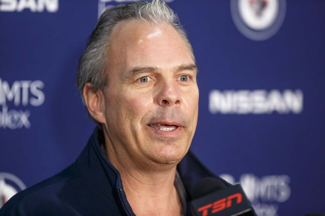 As a member of the Chicago Blackhawks staff in 2010, current Jets GM Kevin Cheveldayoff was in a meeting where details about alleged sexually inappropriate behaviour by a video coach towards players was discussed. (Mike Deal / Winnipeg Free Press files)