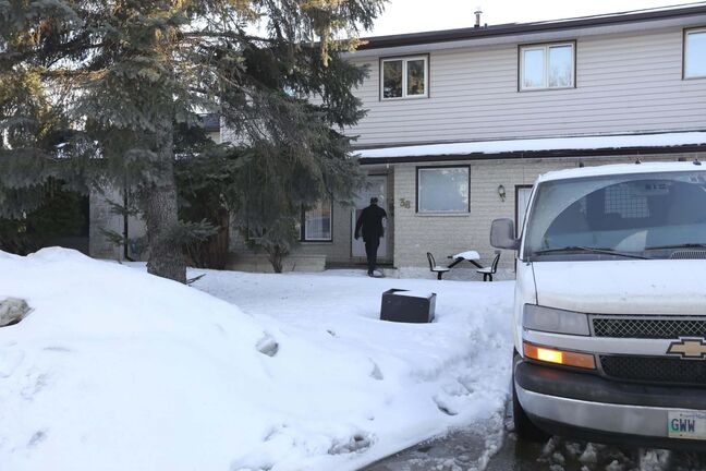RUTH BONNEVILLE / WINNIPEG FREE PRESS FILES</p><p>The home at 38 Forest Lake Drive in Waverely Heights where the remains of a woman's body were found in a barrel.</p>