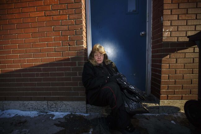 MIKE DEAL / WINNIPEG FREE PRESS</p><p>Deborah Siemens, who is homeless, says she knows how to survive and although she has street experience and isn&rsquo;t on drugs, she occasionally finds herself without a warm place to stay.</p></p>