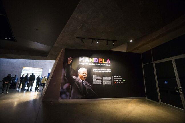 Human rights museum's new exhibition lets visitors relive the struggles and triumphs of Nelson Mandela