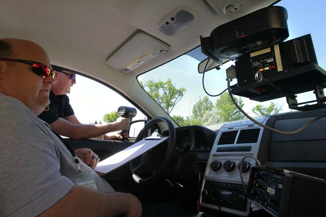The provincial government has launched an independent review of photo radar enforcement and will examine all aspects of photo enforcement including whether it's meeting the stated objective of reducing collision and injuries. (Wayne Glowacki / Winnipeg Free Press files)