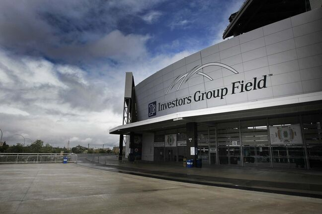 For all the problems with IGF, the Bombers have held up their end by making its $3.5-million annual mortgage payments. (Phil Hossack / Winnipeg Free Press)</p></p>