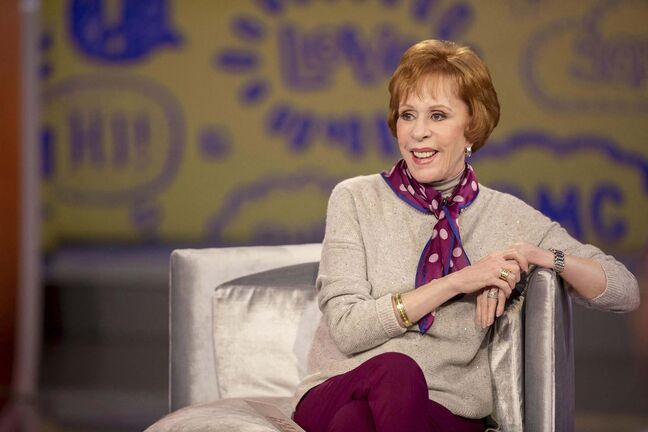 As was the case with her television series, which ran from 1967 to 1978 on CBS, Carol Burnett's live, audience-interactive evening is about laughter and reflection, not about being topical or edgy. (Tyler Golden / Netflix)