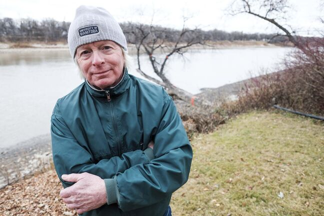 Donahue recalled it seemed odd the man didn't utter a single word to the pair who rescued him. (Daniel Crump / Winnipeg Free Press)</p>