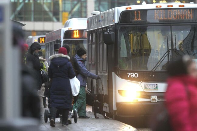 The city has ordered a report outlining options to expand the authority and powers of Winnipeg Transit inspectors. (Ruth Bonneville / Winnipeg Free Press files)