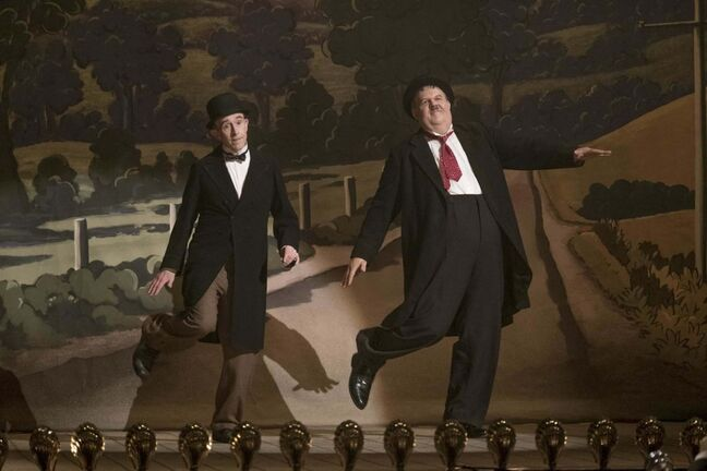 SONY PICTURES</p></p><p>Steve Coogan (left) as Stan Laurel and John C. Reilly as Oliver Hardy in Stan and Ollie.</p>