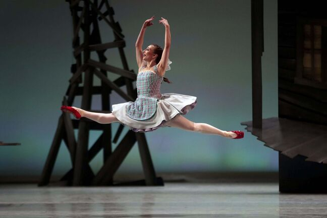 RWB Soloist Alanna McAdie in a scene from