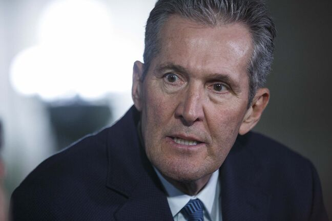 Premier Brian Pallister initially promised the review would be independent, but with the Treasury Board involved, there is a political lens on the issue. (Mike Deal / Winnipeg Free Press)</p>