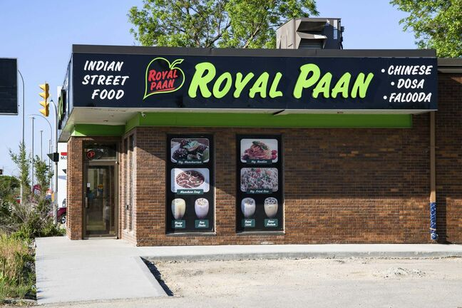 Royal Paan, located at 2419 McPhillips St., offers many varieties of Indian and Chinese comfort food.</p>
